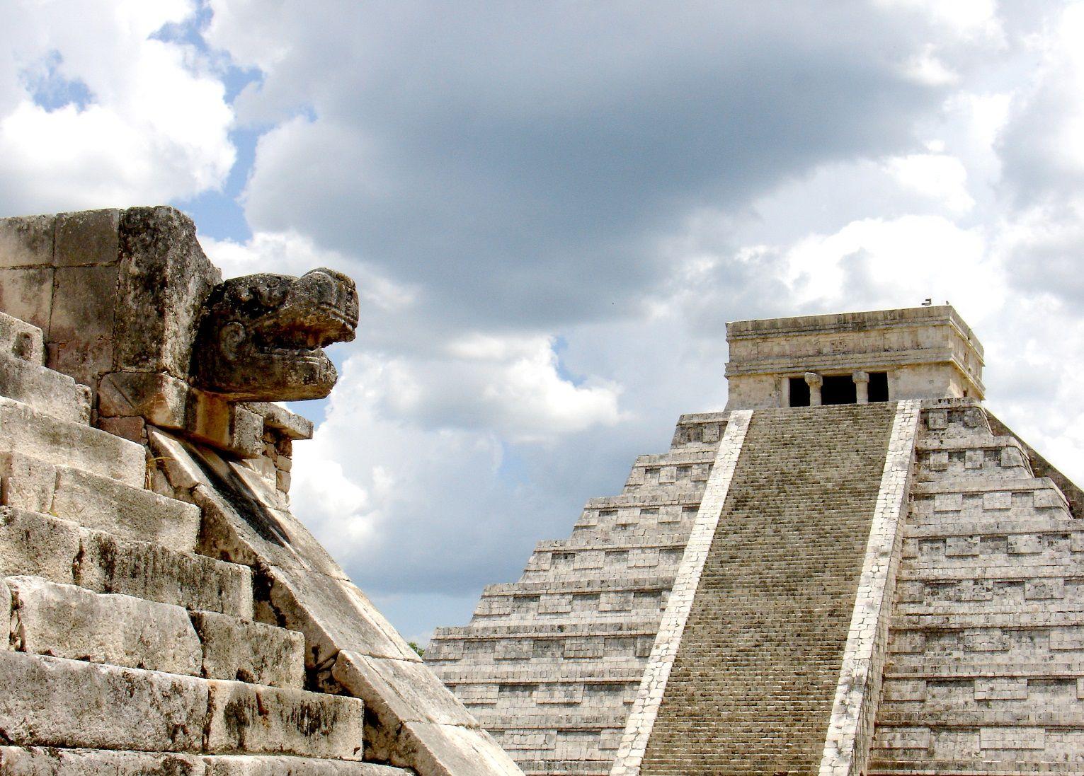 Chichen Itza in the State of Yucatan