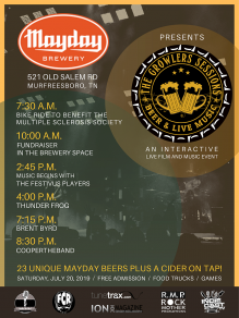 THE GROWLERS SESSIONS DEBUTS AT MAYDAY BREWERY