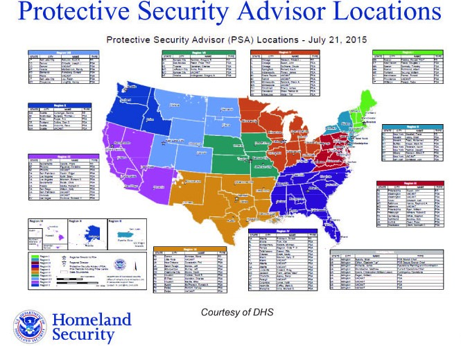 DHS PSA MAP (No African American Females Hired 2004-2019)