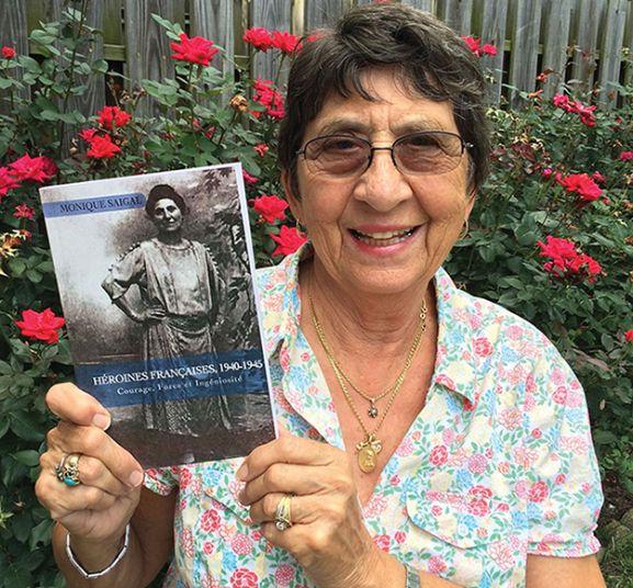 Author and retired professor, Dr. Monique Saigal
