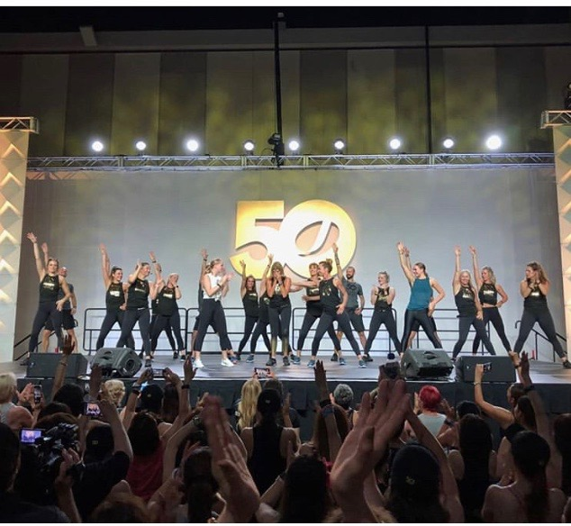 Over 3000 Participants Attended the 50 Year Jazzercise International Anniversary
