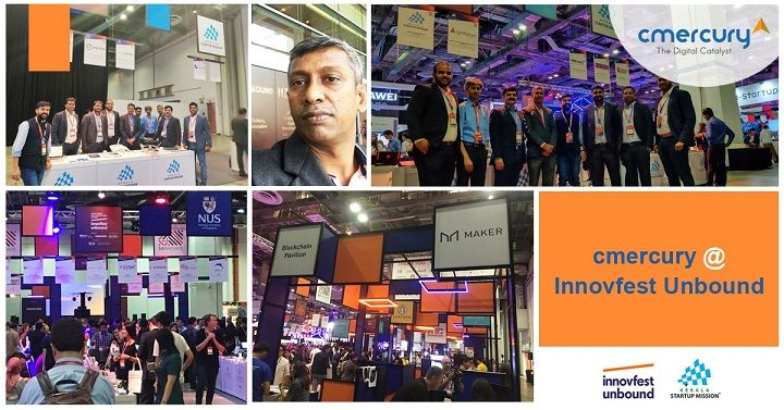 Marketing Automation player cmercury at Innovfest Unbound