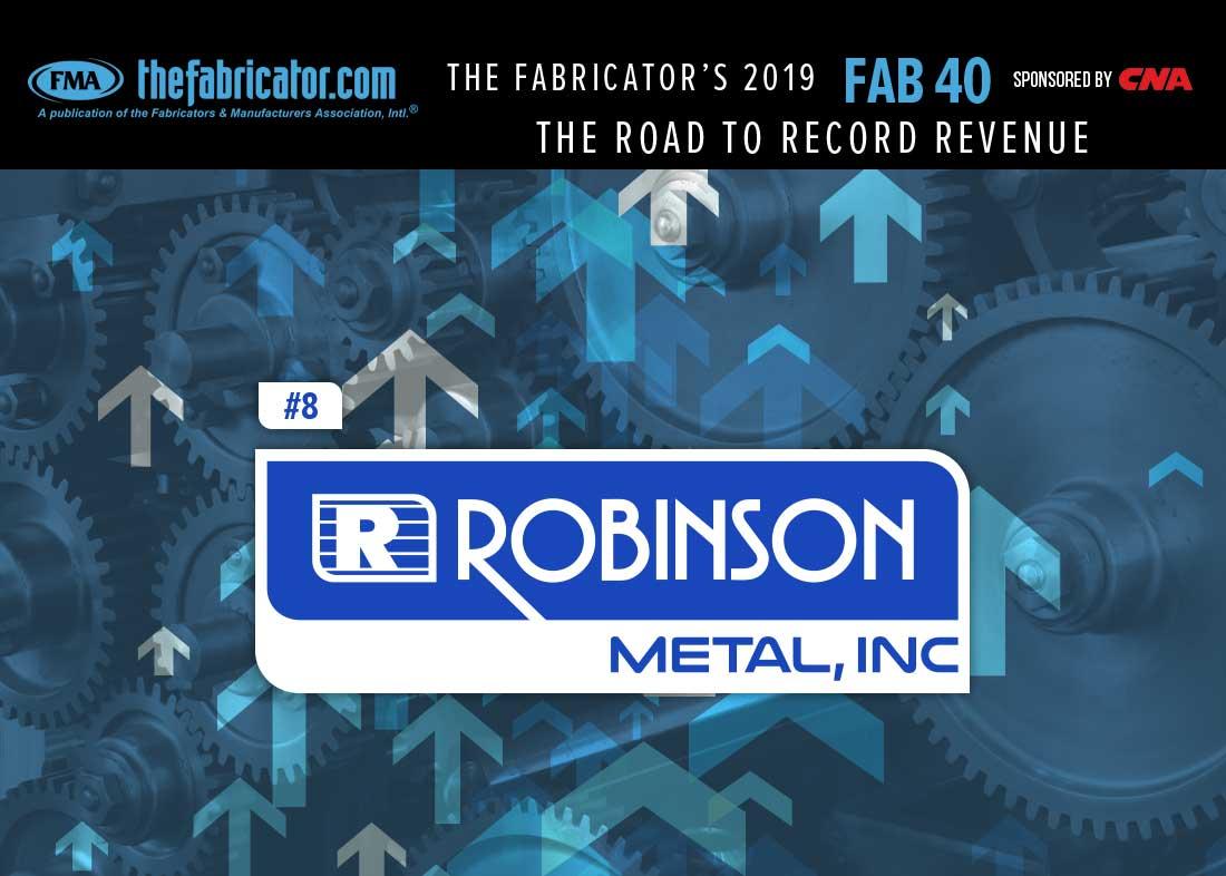 Robinson Metal metal fab manufacturing