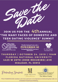 4th Annual The Many Faces Of Domestic And Teen Dating Violence