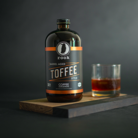 Rook Coffee's Barrel Aged Toffee Style Cold Brew
