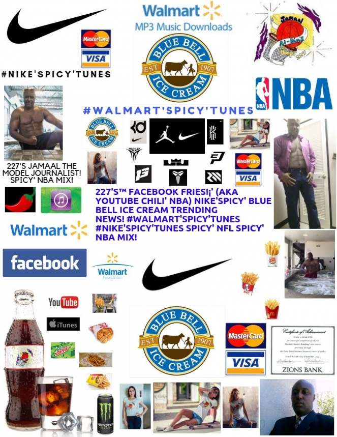 227's™ #LICK'liciously' #SoNasty WALMART Blue Bell ICE CREAM Licker Spicy' NBA