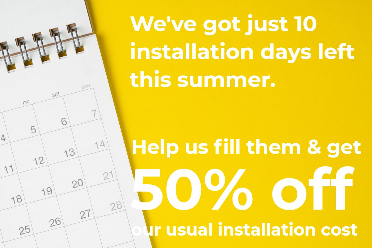 Just 10 installation days are available say Mid West Disiplays