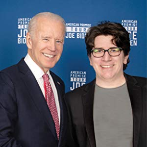 Andrew Shaffer with Joe Biden at a Meet and Greet In 2017