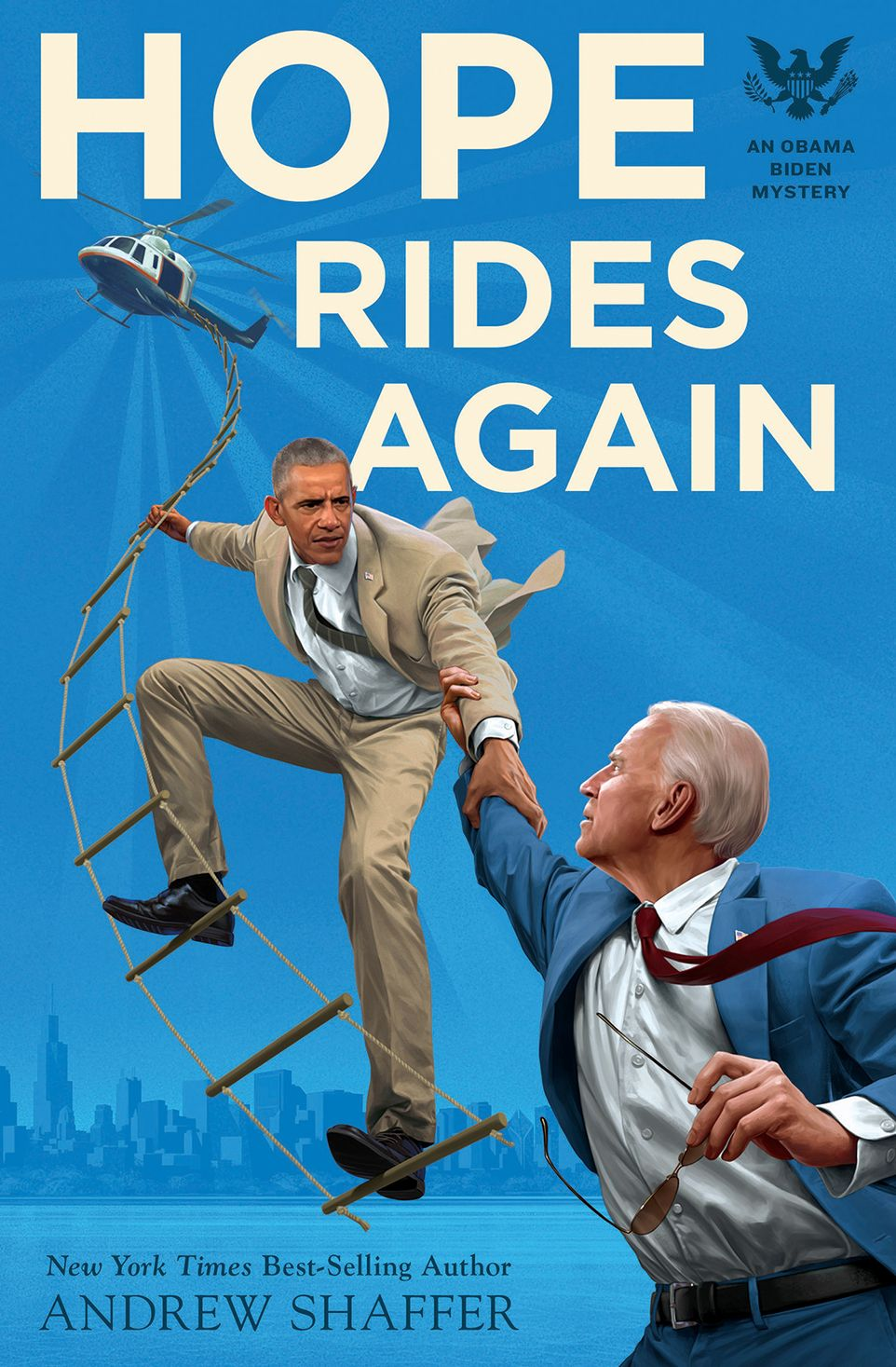 Hope Rides Again: An Obama Biden Mystery (Quirk Books and Audible Studios)