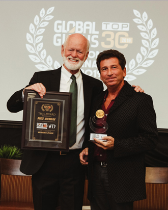 Boris Cherniak receives Global Guru Award