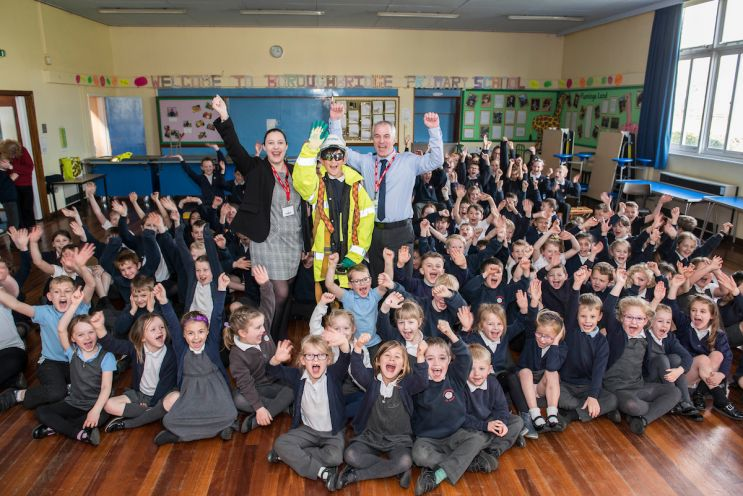Miller Homes Visits Boroughbridge Primary School