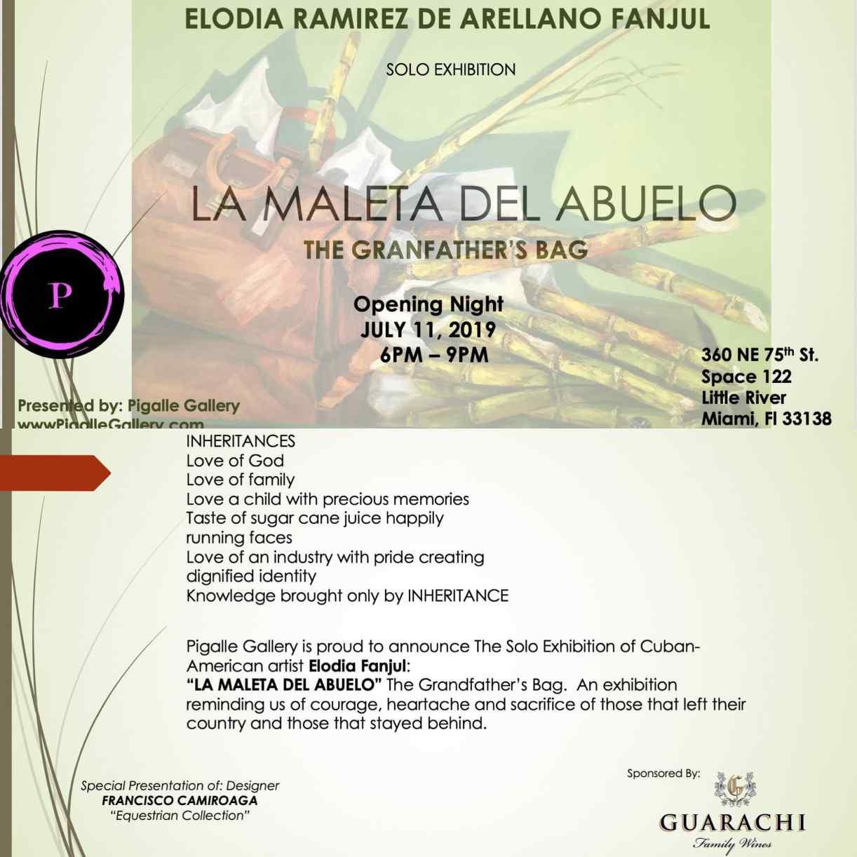 Pigalle Gallery presents 'La Maleta Del Abuelo – The Grandfather's Bag'