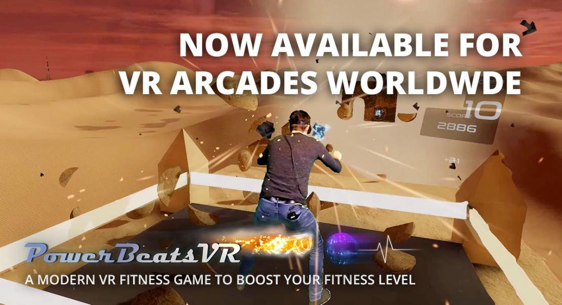 PowerBeatsVR - VR Arcades Worldwide