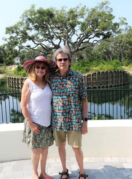Ocean Ridge residents Howard and Catherine Bernstein.
