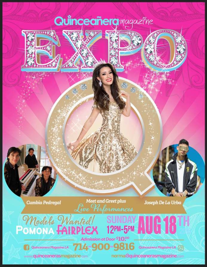 Quinceanera Expo Fairplex Aug 18, 2019
