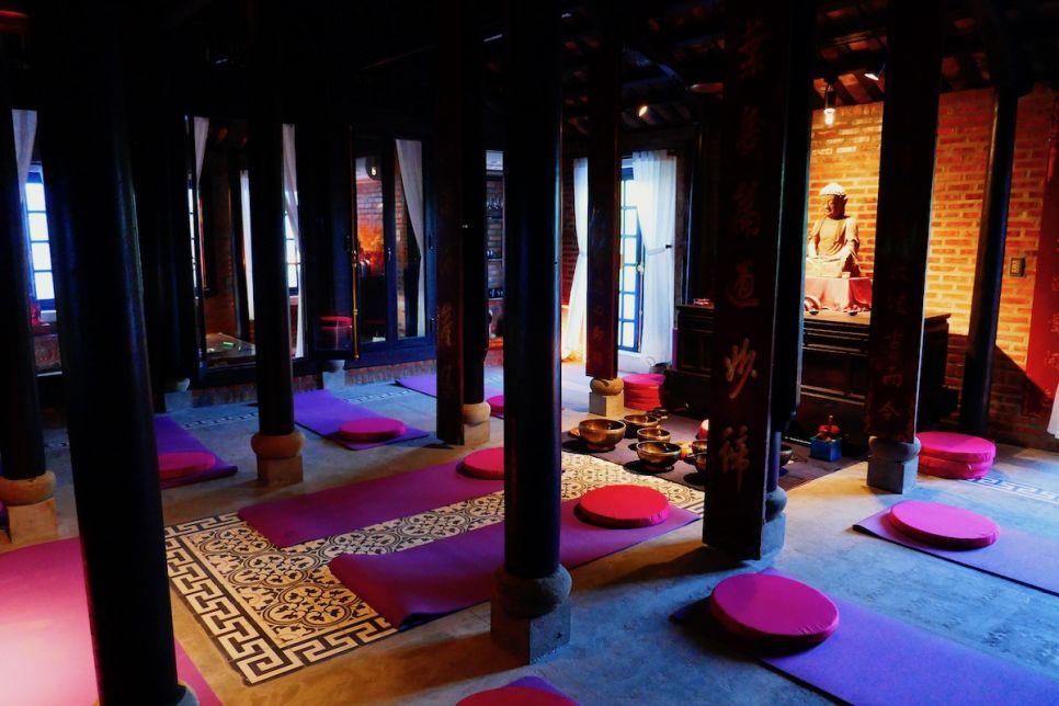 Stunning Meditation Space - Gratitude Vietnam Retreat Center Hoi An