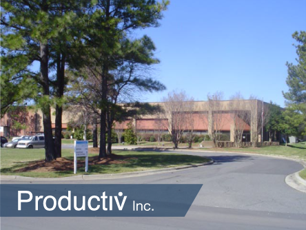 Productiv recently moved into this second location in Charlotte
