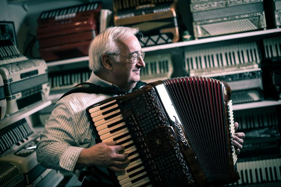 """Angelo Paul Ramunni, author """"Accordion Stories From the Heart"""""""