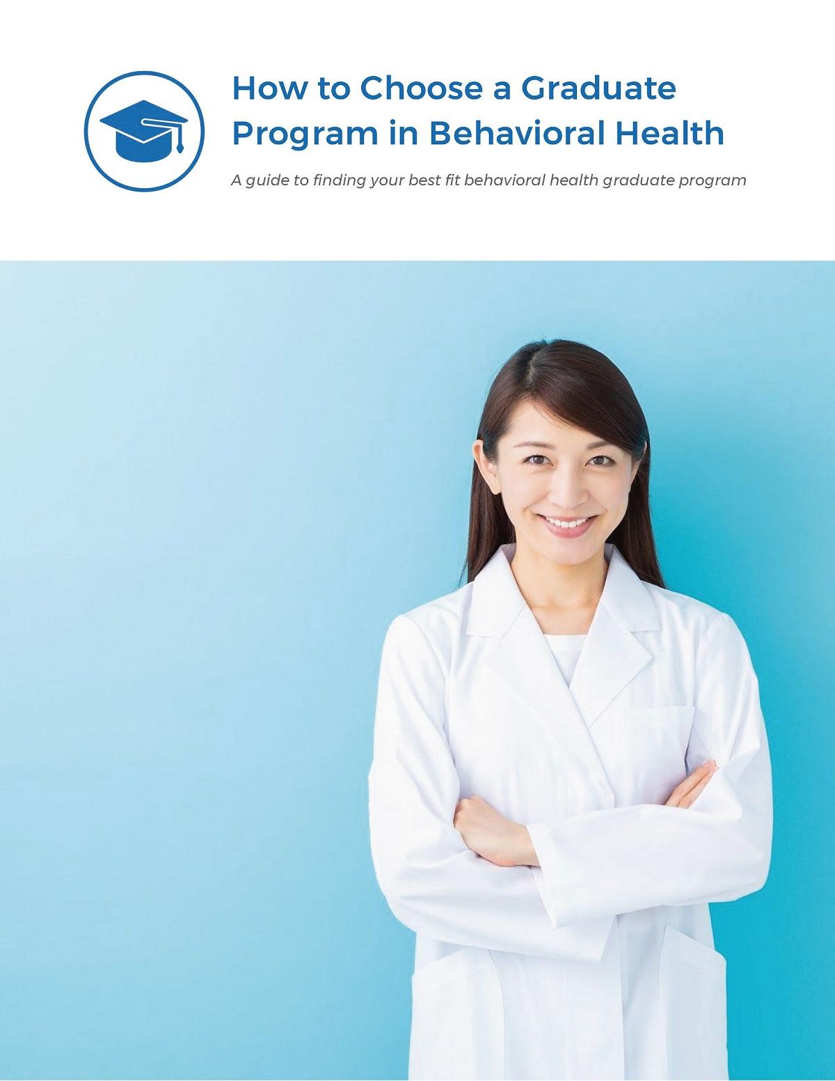 Guide How to Choose a Graduate Program in Behavior