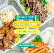 Ono Hawaiian BBQ Rancho Cordova Grand Opening