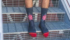 Christian Hosoi 'Sacred' Sock by MERGE4