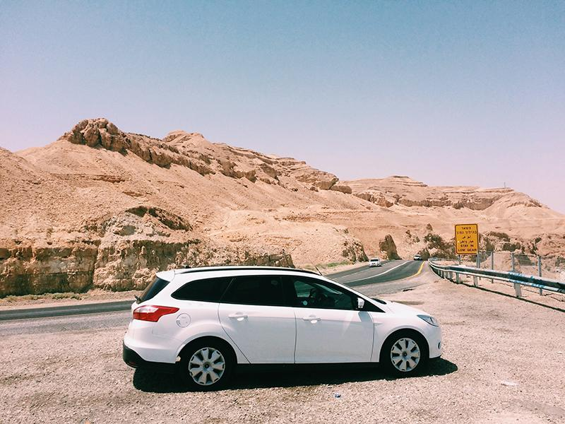 Heat soak test in the desert