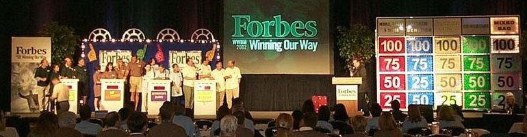 National Meeting, Forbes Magazine, Greenbrier Resort, WV
