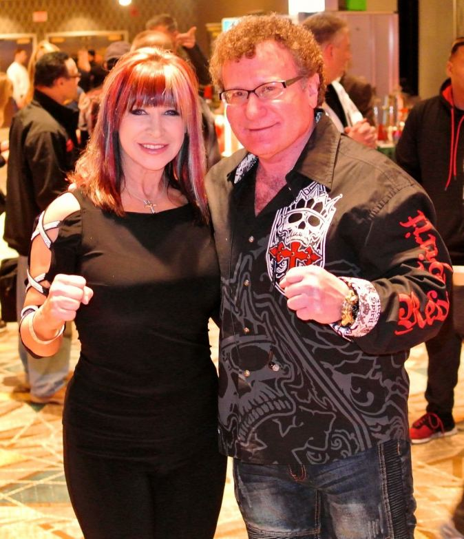 Robert Goldman and Cynthia Rothrock