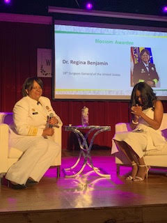 The 18th Surgeon General of the U.S. was an honoree of The Blossom Awards.