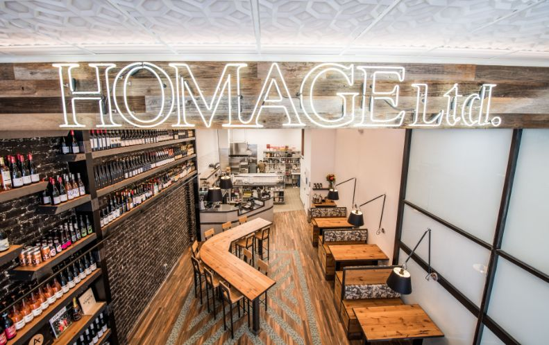 Homage LTD opens in San Francisco. Photo by Gabriel Rojas Photography.
