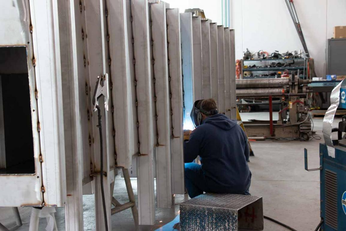 BSMW tank fabrication
