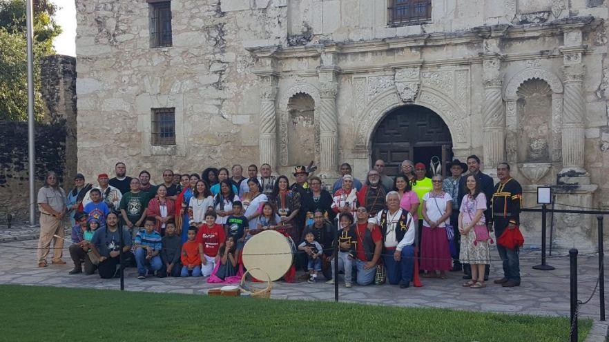 Members of the Tap Pilam Coahuiltecan Nation