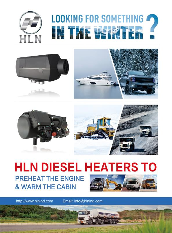 HLN diesel heaters for extreme low temperature applications
