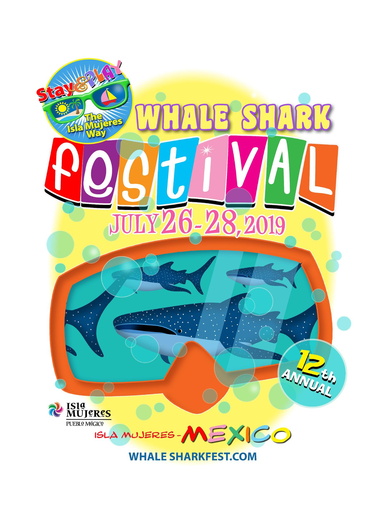 Whale Shark Festival Logo 2019 New Dates