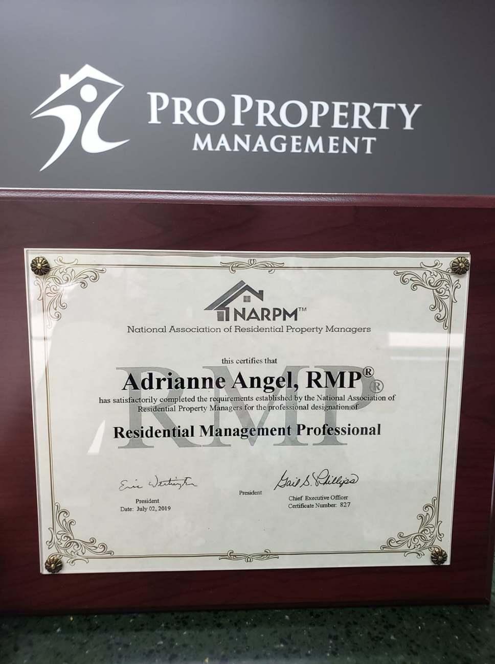 RMP Designation