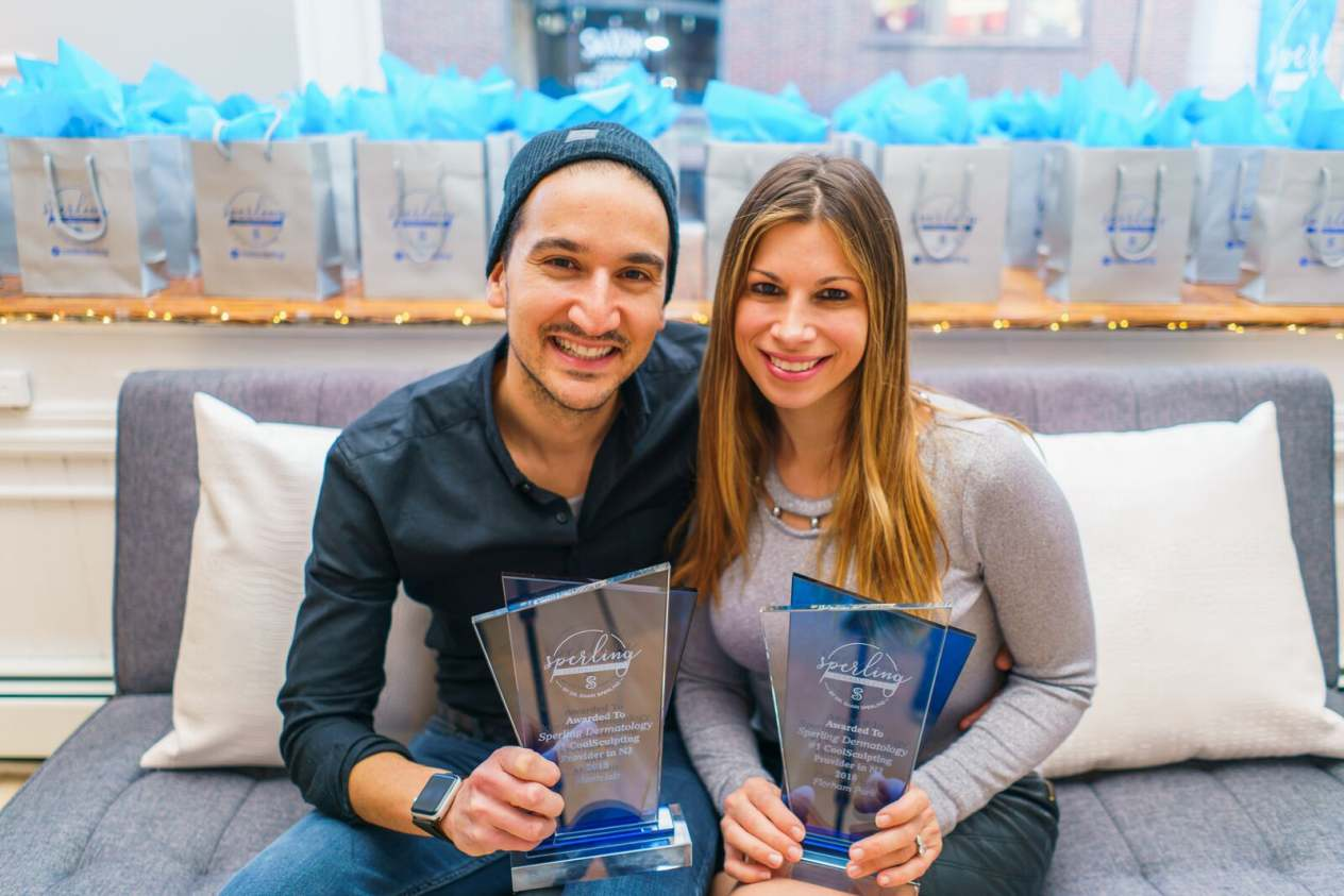 Dr. Shari Sperling & Ari Katz celebrate as country's #1 CoolSculpting provider