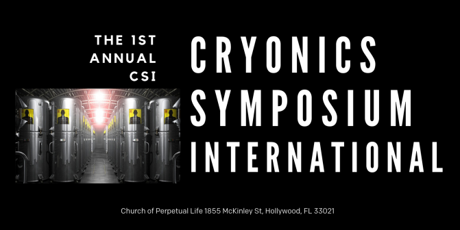 First Annual Cryonics Symposium International