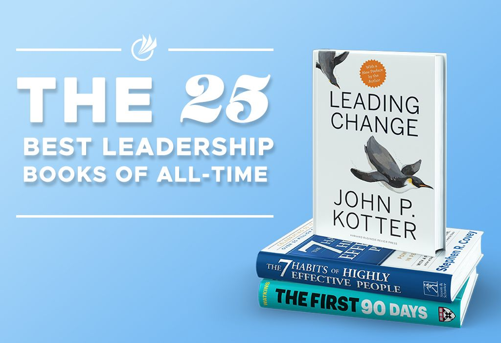 25 Best Leadership Book of All-Time