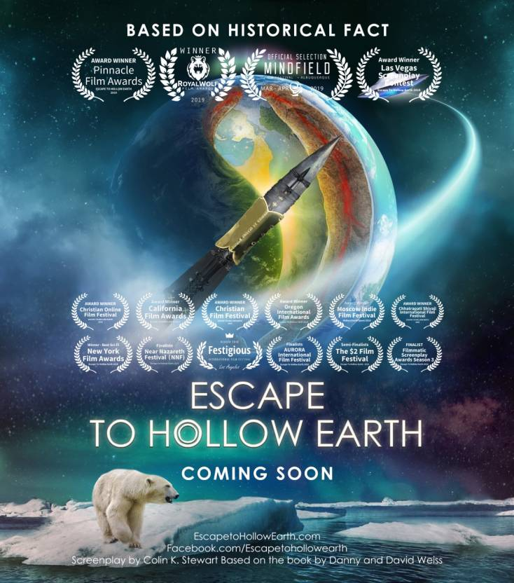 Escape to hollow earth with laurels