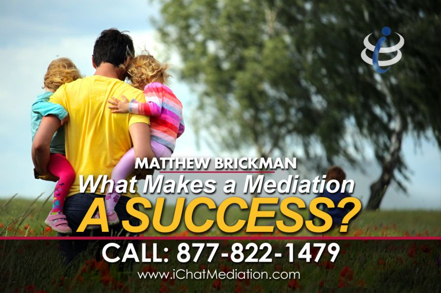 Formula for a Successful Mediation, Quick, Easy Divorce, iChatMediation.com