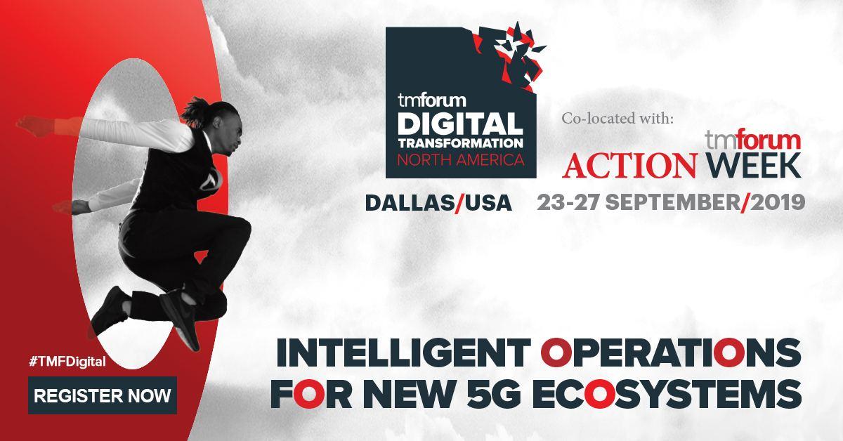 Digital Transformation North America, Dallas, Sept. 23-27