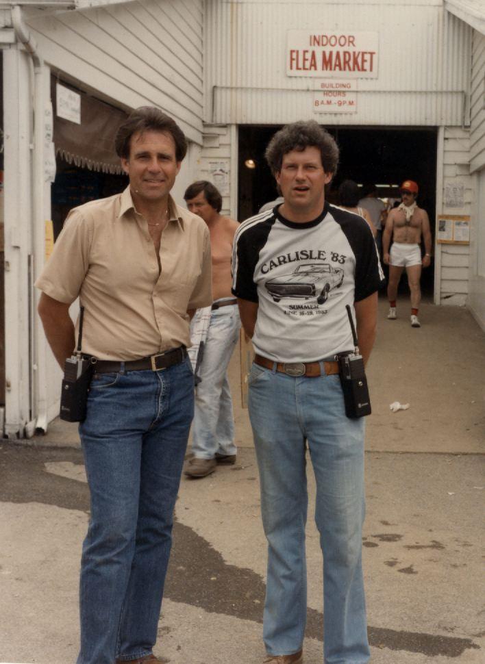 Bill Miller (L) and Chip Miller (R)