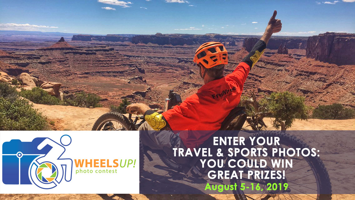 Wheels UP! Share Your Accessible Travel & Sports Pictures