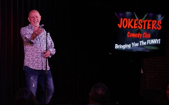 Don Barnhart invites you to celebrate Jokesters Comedy Club Day in Las Vegas