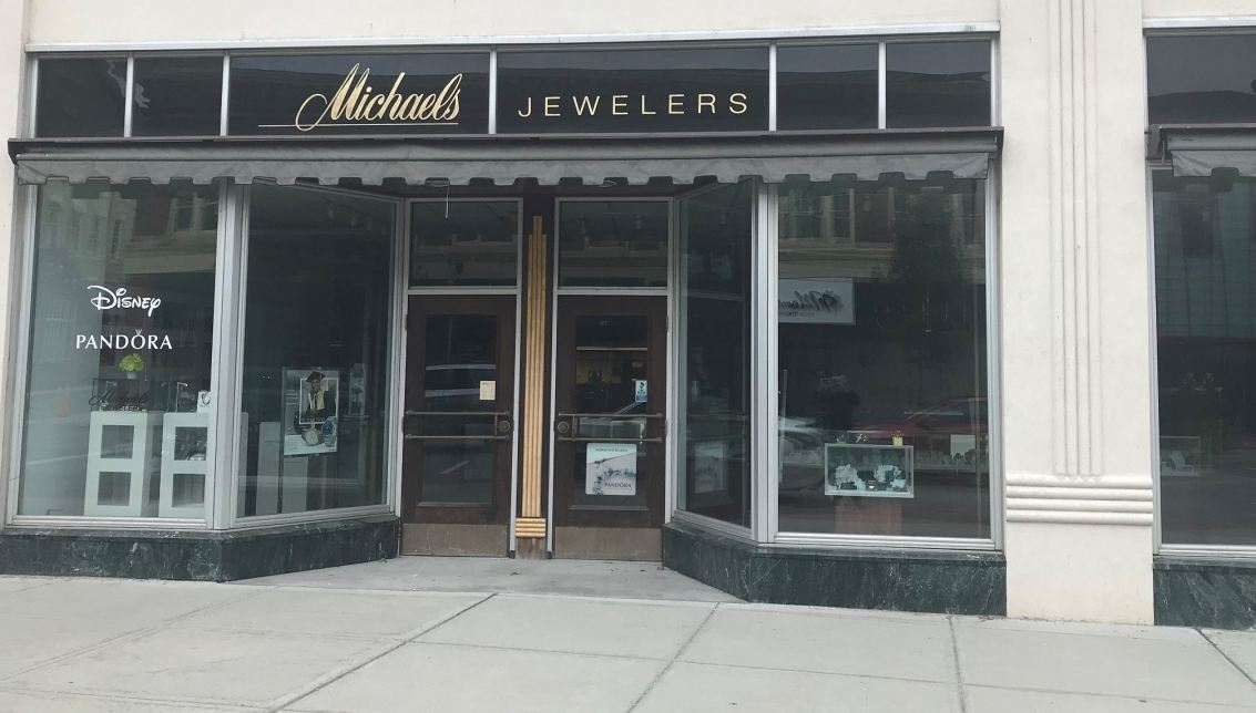 Michaels Jewelers Torrington store at 80 Main Street