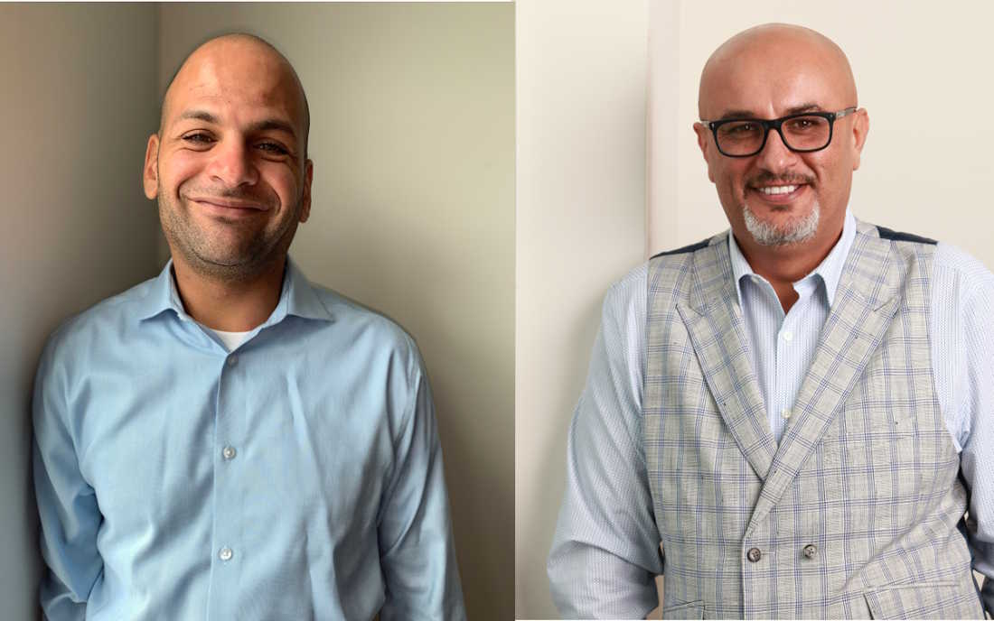Rammie Hamdan and Nael Barjas, Finance Managers, Sun Toyota