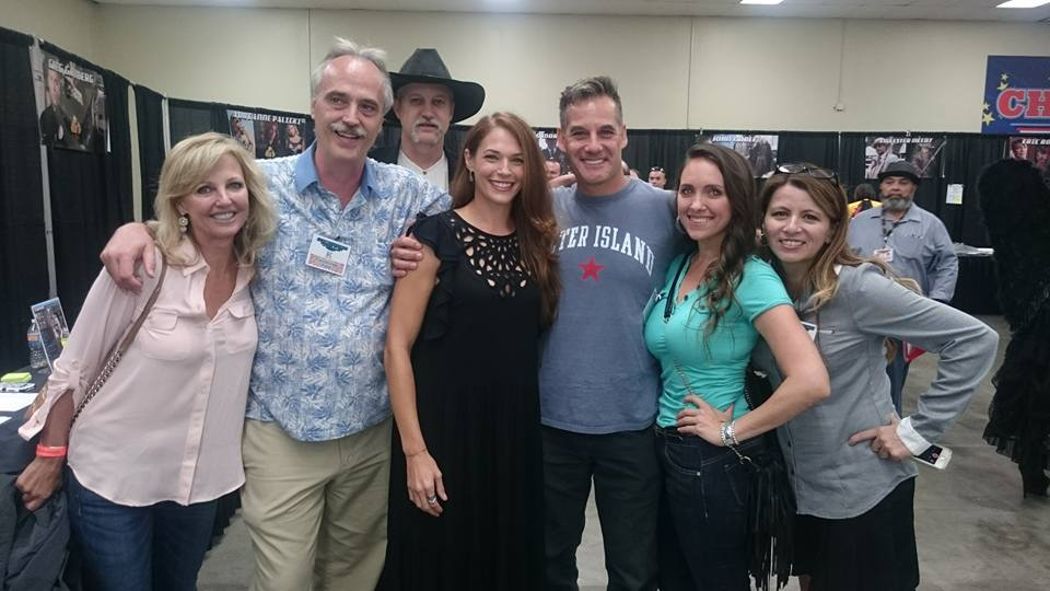 Author Guy Lozier and Actors