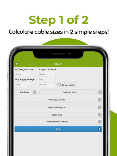 Cable Size Calculator UK