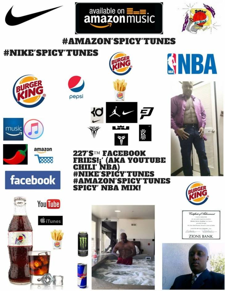 227's™ YouTube Chili' IMPOSSIBLE Whopper Mix! #ADIDAS'Spicy' #NIKE'Spicy' NBA!