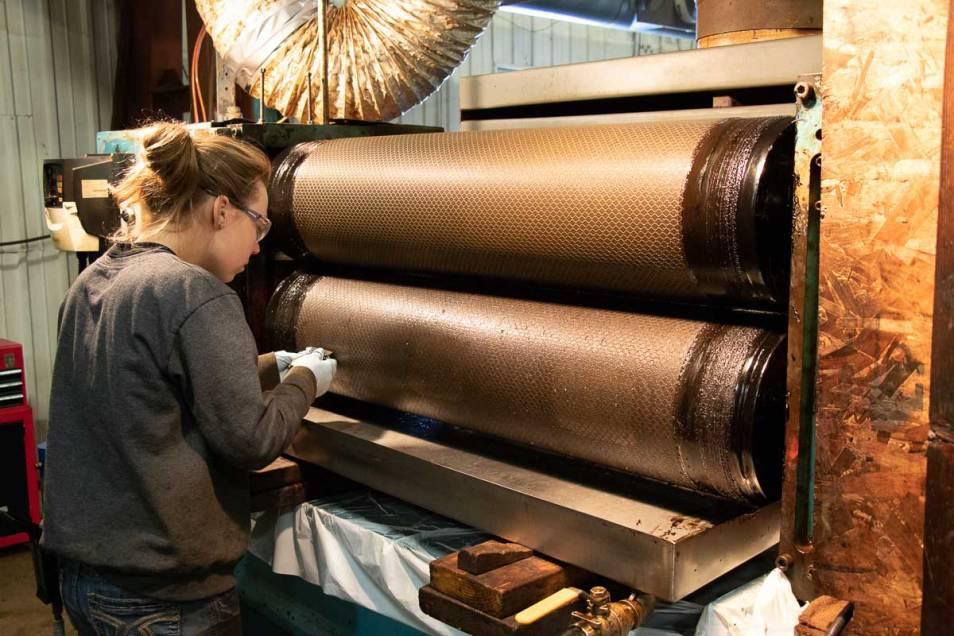 Industrial Engraving Roll embossing
